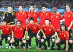 Spain on their way to South Africa