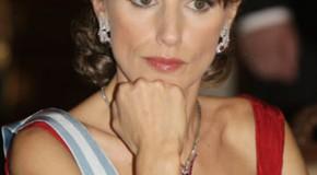 Princess Letizia reopened Spanish Castle