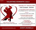 Grand Valentine's Gala at Guadalpin Hotel