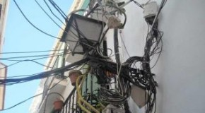 Marbella to clean up overhead cables and wires