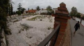 One year under plastic - Villa Romana restoration moves at a snail's pace