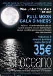 Full Moon Gala Dinner