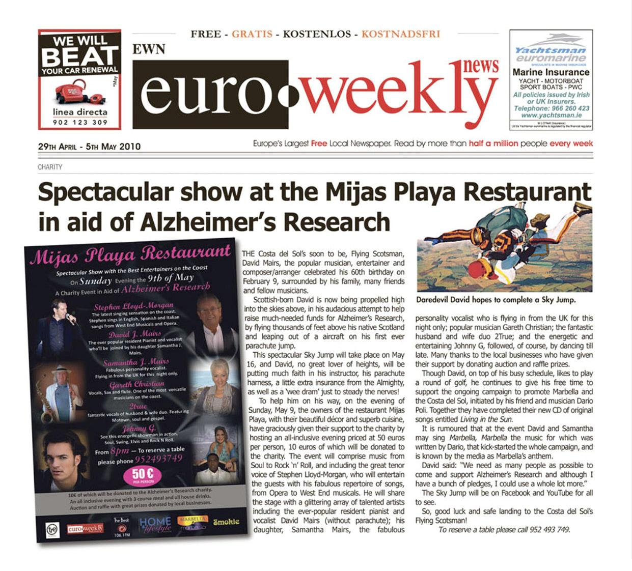 EuroWeeklyNews cover