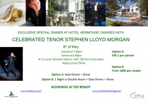 Stephen Lloyd-Morgan at Hotel Hermitage