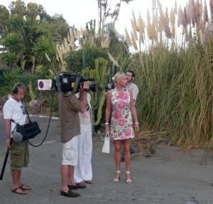 Inge Rinkhoff TV recording