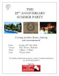 Children with Leukaemia Summer Party