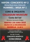 Concordia Collegium Musicum charity concert