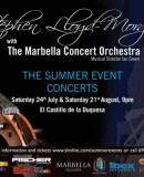 Stephen Lloyd-Morgan with The Marbella Concert Orchestra
