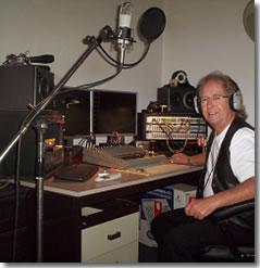 David Mairs in studio