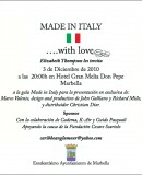 """Made in Italy"" Gala – Marbella!"