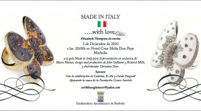 """Made in Italy"" Gala - Marbella!"