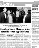 Stephen Lloyd-Morgan´s Manager Nick Holland reflects on an amazing and very busy 2010.