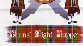 Burns Night Supper at the Hotel Tamisa Golf