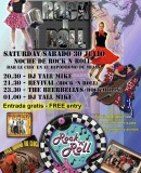 """Rock 'n Roll Night"" at Le Chic on Saturday 30th July – Hipódromo Costa del Sol."