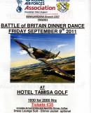 RAFA The Battle of Britain Gala Event at the Hotel Tamisa Golf.