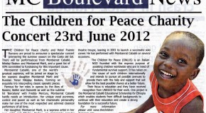 The Children For Peace Charity Returns to Marbella in Style