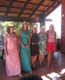 Women in Business Spain toast 10 year anniversary at Tikitano