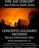The DVD of The Fire Aid Concert is now available