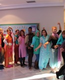 Festival of lights celebration at Marbella school