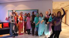 Festival of lights celebration at Marbella school
