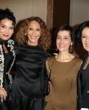 Lamia Khashoggi Marisa Berenson Dina Kawar and Debra Mace