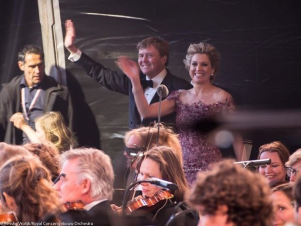 King of The Netherlands Willem-Alexander and Queen Máxima
