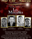 Special Benefit Concert in Aid of Johnny Westwood – West End Musicals In Concert – Thursday 6th June – Hotel Tamisa Golf, Mijas Costa