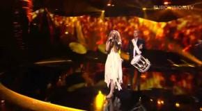 "Denmark's Emmelie de Forest, Wins Eurovision Song Contest 2013 - ""Only Tear Drops""."