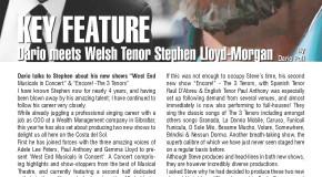 Key Feature: Dario Meets Welsh Tenor Stephen Lloyd-Morgan