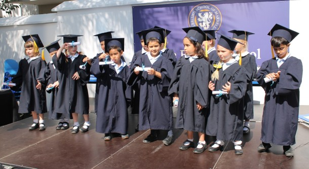 Reception Children graduating to Year One
