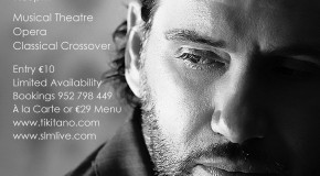 EXCLUSIVE - International Tenor Stephen Lloyd-Morgan - 19th July Marbella