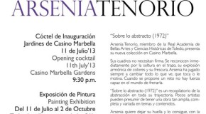 """Arseniatenorio"" Abstract Art Exhibtion at the Casino Marbella"