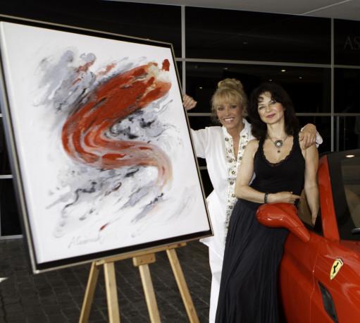 Alicia Czerniak con Silvia Tortosa en F1 Gallery