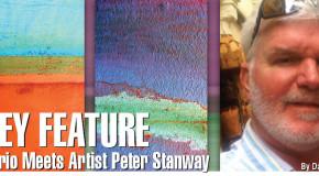 Dario Meets Artist Peter Stanway: Key Feature.