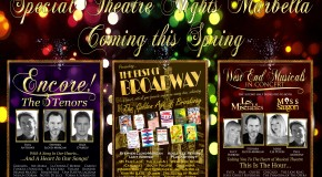 New For 2014 � Special Theatre Nights Marbella � Coming This Spring
