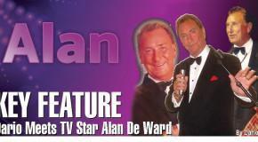 Dario Meets TV Star Alan De Ward