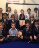 Year Two with author Anita Pouroulis during Book Week