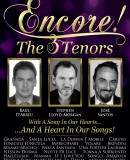 Encore! The 3 Tenors - Los 3 Tenores - new cast 2014