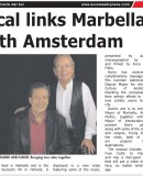 Musical Links Marbella with Amsterdam