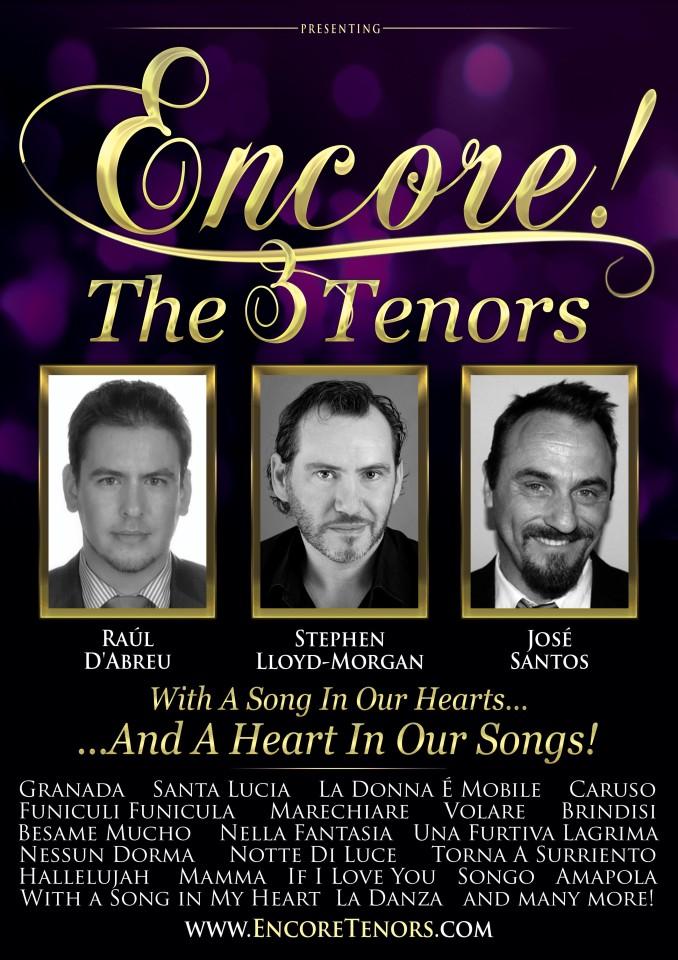 Encore 3 Tenors