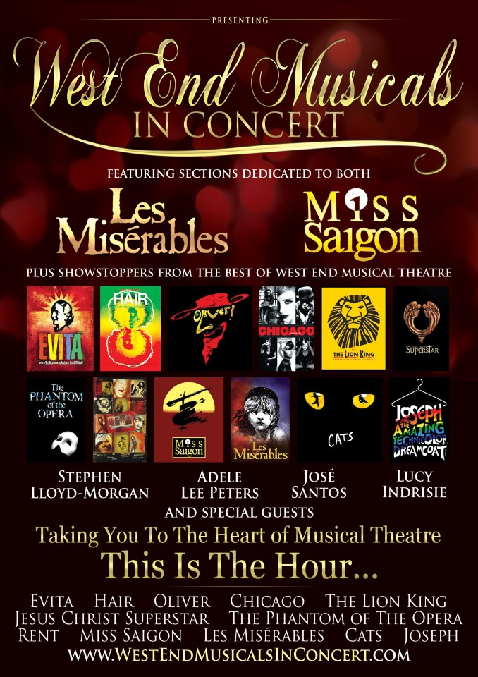 WEST END MUSICALS IN CONCERT