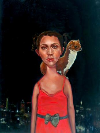 Angela Mccaffrey - 8, weasel