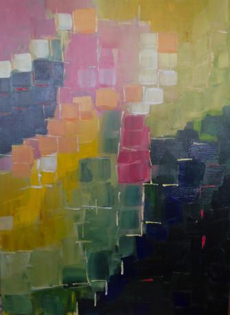 Glory acrylic on canvas 24 x 18  Iris Low