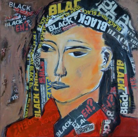 Therese Lydia Joseph -Zen in Black