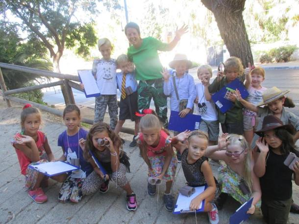 BSM´s Year 3 pupils taking a walk on the wild side.