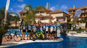 Italian Cyclist Mario Cipollini Takes Part in 3 Day Cycling Event