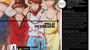 Kasser Rassu Gallery Presents Milu Petersen at the Casino Marbella.