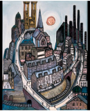 A Visit to the Alasdair Gray Retrospective Exhibition