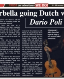 Dario Poli Euro Weekly 22 January 2015