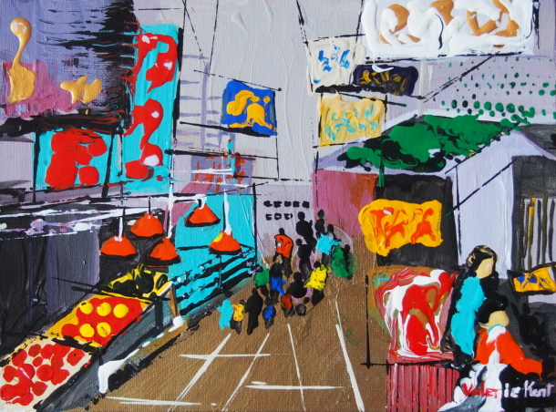 Valerie Kent-The-Asian-City Market